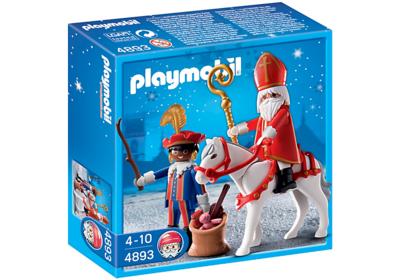 Playmobil 4893 Sinterklaas en en Zwarte Piet