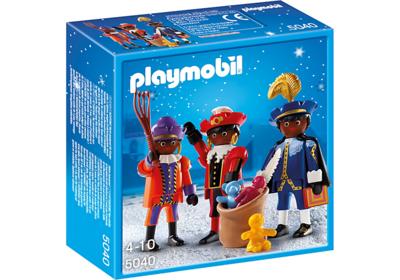 Playmobil 5040 Drie Zwarte Pieten