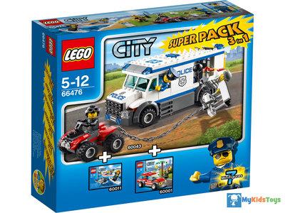 LEGO City 66476 Rescue Super Pack 3 in 1