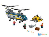 LEGO City 60093 Diepzee Helikopter