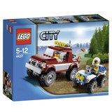 4437 Lego City Politieachtervolging