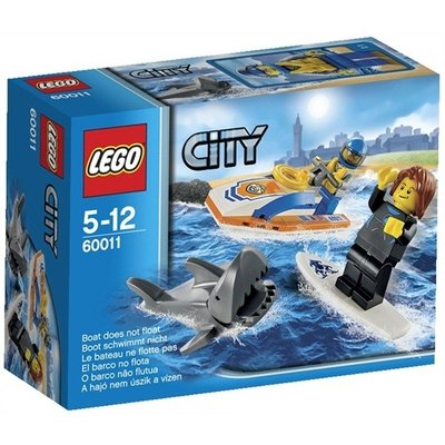 LEGO City 60011 Surfer redding