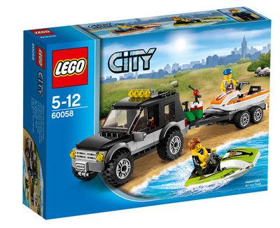 LEGO City 60058 SUV met waterscooters