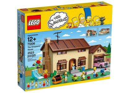 LEGO 71006 Het huis van The Simpsons