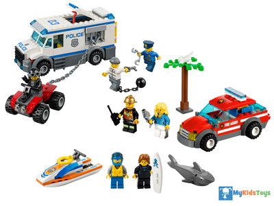 LEGO City 66476 Rescue Super Pack 3 in 1