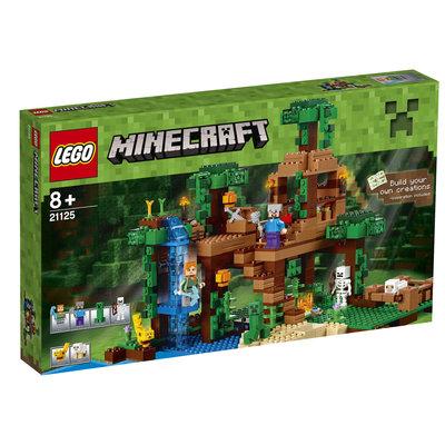LEGO Minecraft 21125 De jungle boomhut