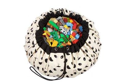 Play & Go Speelgoedkleed en opbergzak - panda