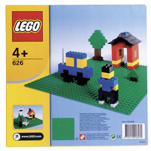 Lego 626 bouwplaat groen