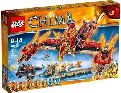 MyKidsToys | LEGO Chima 70146 Phoenix Vuurtempel