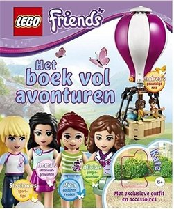 Lego Friends - boek vol avonturen