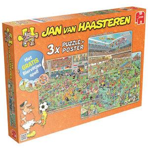 Jumbo Puzzel JvH: Voetbal Oranje 3x 500/750/1000 stukjes